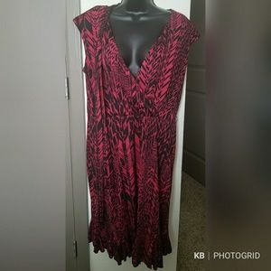 Dresses & Skirts - Red and Black Dress
